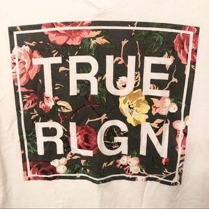 Women's True Religion V-Neck T-Shirt